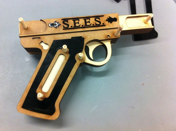 Persona 3 Evoker - Unassembled Laser-cut Parts