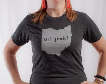 Illinois tshirt state pride tshirt unisex neutral for T shirt printing westerville ohio