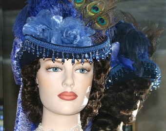 SASS Hat Victorian Hat Sidesaddle Hat Riding Hat Tea Party Hat - Spirit of Rapid City - Women's Western Hat