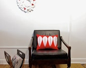 Red Cathrineholm Holiday Decorative Pillow