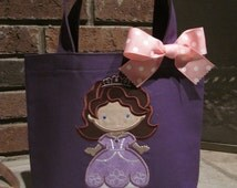 TOTE BAG Sophia the First Personalized Toddler or Big Kid Tote
