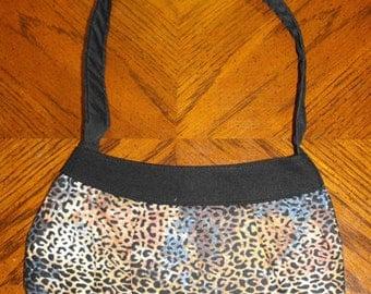 Leopard Print Small Buttercup Bag