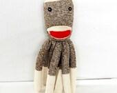 SOCKTOPUS Softie Toy for Baby and Children Stuffed Animal Plush Octopus Sock Monkey