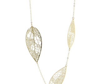 Perlin necklace (gold)