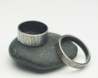 Into the Woods - Recycled Sterling Silver Custom Ring