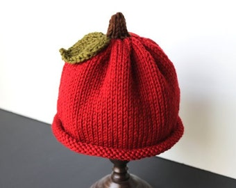 Pumpkin Hat Knit Pumpkin Hat Baby Pumpkin Hat Thanksgiving