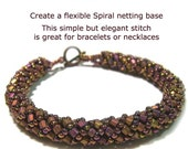 Russian Spiral Bracelet Instructions PDF-File