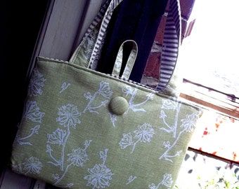 Wildflower laptop bag - Padded - Zippered pocket for cords - 2 24 inch handles