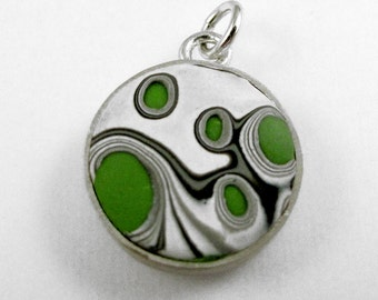 CS11 Green Lava Charm by renonav