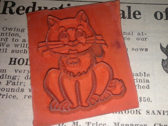 Cat Stamper on etsy