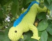 Amigurumi Green Iguana