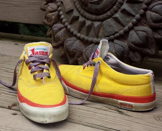 Vintage 80s Sneakers Original Jams Converse Surf By Skippyhaha