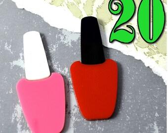 NAIL POLISH CABS - Wholesale Lot - 20 Pieces - You Choose The Color