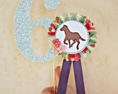 The Vintage Horse Show Collection - Custom Cake Topper from Mary Had a Little Party