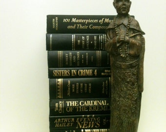 Black Books , Halloween, Charcoal Books, Black Wedding, Modern Decor, Retro Office Decor, Photo Prop, Library, Instant Book Collection