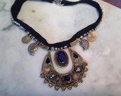 Lapis Kuchi Choker Necklace