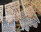 Wedding garlands - CORELLI - papel picado banners - sets of 2