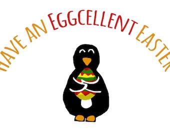 Eggcelent Easter Card