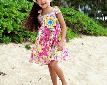 Little Girl Dress - Girls Sundress - Childrens Sundress