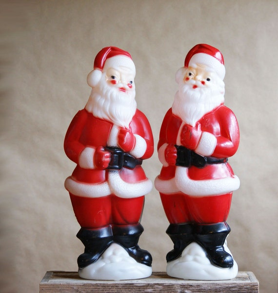 Empire Santa Light Up Blow Mold Was 48.00 Now 30.00