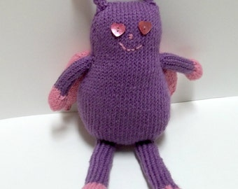 Plush Toy - Girl Bug - Purple and Pink Toy