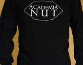Long Sleeve College T Shirt - Academia Nut