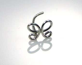 Butterfly Nose Ring