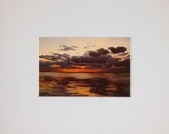 Lake Sunset - Print