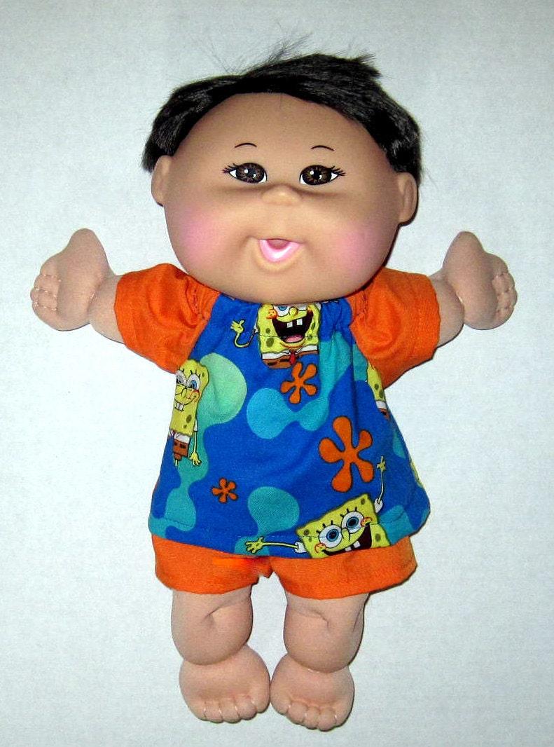 Cabbage Patch Naptime Babyland Doll Clothessponge Bob