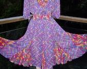 Designer Dress Gypsy Dancer by Susan Freis size M