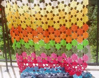 World of colour summer blanket