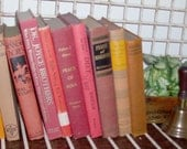 Instant Collection of 10 Pumpkin and Spice Inspired Vintage and Antique Books