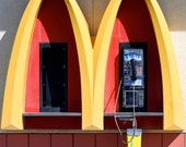 Pay Phone in the Golden Arches