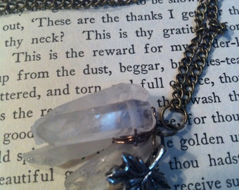 Crystal Forest Cluster Necklace