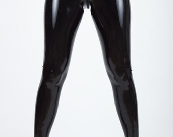 Zip-it Latex Leggings