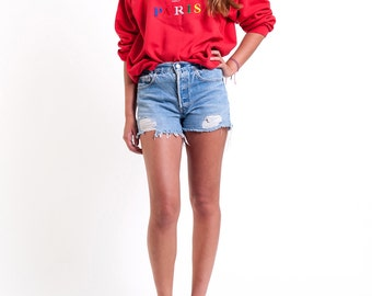 The Vintage J'adore Paris Crewneck Sweatshirt