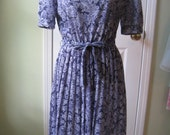 Vintage house dress hand made size small