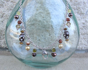 Treasure Keeper Necklace - Dark Roast