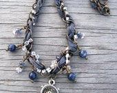Denim Affection as seen in Jewelry Affaire, Artisan Necklace