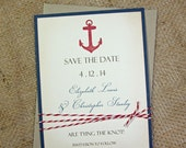 Nautical Save the Date Cards, Save the Date, Wedding Announcements - set of 100