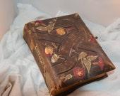 Antique Edwardian Leather Photo Album