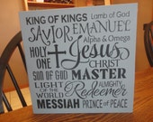 EASTER Sign/ Wedding Sign/ Inspirational Sign/ Subway Sign/Resurrection Day Sign/ Easter Decor/Home Decoration