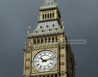 Big Ben London color photograph