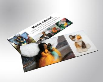 Mini Business Cards, Slim