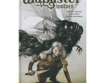 Alabaster: Wolves hardcover, signed and sketched by Steve Lieber