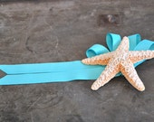 Sale Use PromoCode for Discount Sparkling Starfish Bow