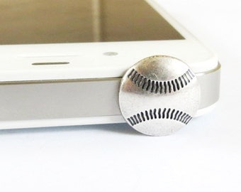 Baseball Dust Plug- Cellphone/ iPhone Accessories- Basketball, Baseball, Soccer Ball, or Golf Ball