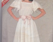 Stitch n Save 8545 by McCall's Dress Sewing Pattern 1980s Bust 34-38 Inches