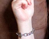 sale SALE sale LINK UP vintage link rope bracelet (silver)