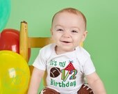It's My 1/2 Birthday Embroidered Shirt: Baby Boy 6 Month Football Outfit, 6m Pictures